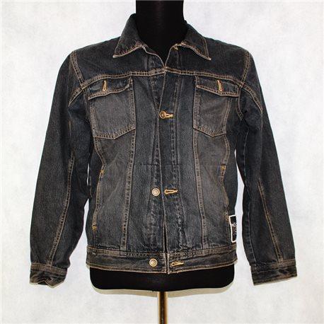 Джинсовая куртка р. 54-56 черная мужская
